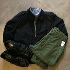US Navy Creighton windbreaker with liner, size 40R, $42+$16 domestic shipping. Vietnam era cotton trousers, size 30/30, $42+$16 domestic shipping. Vintage Coburne Square wing tips, size 9.5, $48+$16 domestic shipping. Call 415-796-2398 to purchase or PayPal afterlifeboutique@gmail.com and reference item in post.