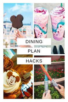 16 Genius Disney Dining Plan Hacks {Things you must know before you eat!} These Disney dining plan hacks are just what i need to get the most out of it! Disney World Vacation Planning, Walt Disney World Vacations, Disney Planning, Best Disney World Restaurants, Disney Resort Hotels, Disney Destinations, Orlando Vacation, Disney Travel, Florida Vacation