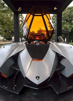 A fighter jet or a car? The new #Lamborghini Egoista is Mad! Hit the pic to see the inside of the 'cockpit' #carporn