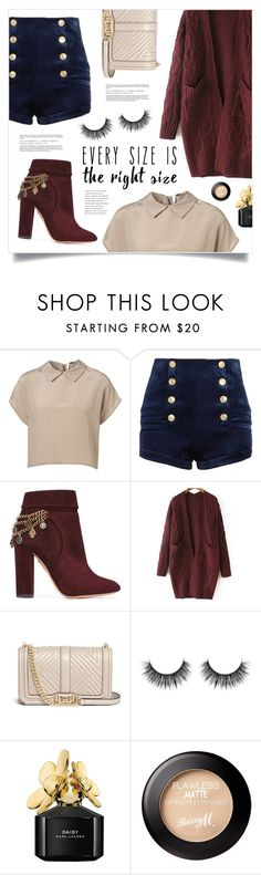 """""""Your Signature Power Look"""" by marina-volaric ❤ liked on Polyvore featuring Pierre Balmain, Aquazzura, WithChic, Rebecca Minkoff, Marc Jacobs and powerlook"""