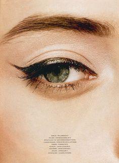 The cat eye.