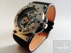 Industrial Custom Rally watch by GRIOTH