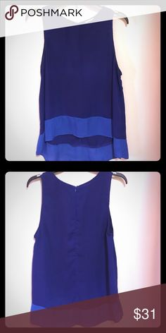 High-Low Top Sleeveless high-low blouse. Great option to go with leggings or skinny jeans. Tobi Tops Blouses