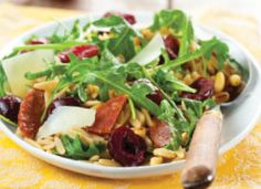 Recipe: Roasted Cherry, Chorizo and Orzo Salad.This is the sort of salad that can easily serve as a complete light meal in the heat of summer!