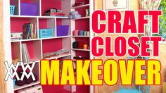 Maybe do this to the closet or at least use idea to create shelves against wall.