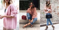 Look We Love: Pink Knits | sheerluxe.com