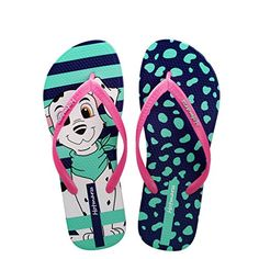 a5f61710e Hotmarzz Women s Cute Dog Puppy Slippers Fashion Sandals Beach Flip Flops  Size 2 UK