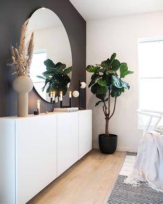 Home Decor Bedroom, Decor Room, Living Room Decor, Modern Apartment Design, Home Interior Design, Living Room Designs, Living Spaces, Hallway Designs, Ikea Home