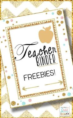 Binder Free Teacher Binder Free Teacher Binder Freebie Start Building Your Teacher Binder Today Here Are Several Planning Pages Including Covers Scheduling Pages And Miscellaneous Pages To Get You Started Contents Include Schedule Cover Page Mon Fri 8 Classroom Organisation, Teacher Organization, Teacher Tools, Teacher Hacks, Teacher Resources, Classroom Management, Organized Teacher, Teachers Toolbox, Teacher Stuff