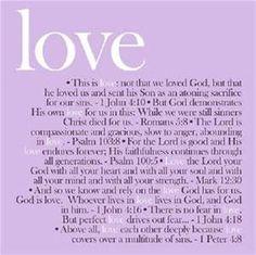 Love Bible Verses - Bing Images