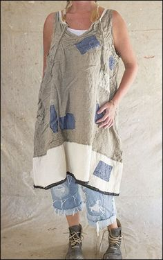 Corin Artist Smock Tank Dress 319 Flax .01.jpg