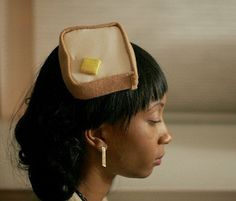 Unique hats by Suite Eleven are a one of! They always make me smile! Love this Toast and Butter Pill box hat!