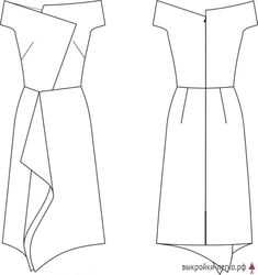 How to Craft Doll Dresses Dress Sewing Patterns, Clothing Patterns, Nice Dresses, Short Dresses, Best Fashion Photographers, Fashion Sewing, Fashion Sketches, Dressmaking, Cotton Dresses