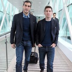 Pinto and Messi on their way to Madrid against Getafe