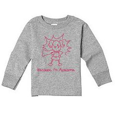 Awesome Girl Long Sleeve Tee now featured on Fab.