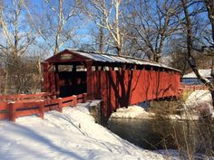 Re-visiting childhood memories at the Bells Mills Covered Bridge, Sewickley and South Huntingdon Townships, Westmoreland County, PA.