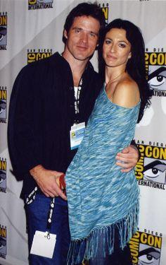 Ben Browder and Claudia Black