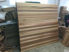 Cedar privacy panels. Slatted Fence Panels, Privacy Panels, Contemporary Fencing, Modern, Furniture, Home Decor, Style, Swag, Trendy Tree