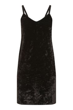 f034925f95 Crushed Velvet Slip Dress