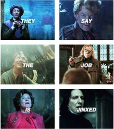 Image result for they say the job is jinxed