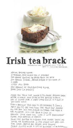 Irish Tea Brack!  I loove tea brack so much, ages since I made one.