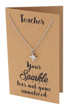 Use our Bethany Teacher Gifts, Sparkle Jewelry and Thank You Cards to show how much you appreciate your favorite mentor. Perfect gifts for teachers that will surely make them feel loved. Teachers Day Gifts, Best Teacher Gifts, Teacher Appreciation Gifts, Teacher Presents, Appreciation Quotes, Volunteer Appreciation, Thank You Gifts, Thank You Cards, Jewelry Quotes