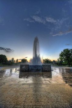 Ann Morrison Park, Boise Idaho. My kids grew up playing in this water. :)