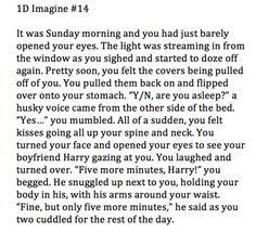 One Direction, Imagines, Harry Styles Sooooooooooooo sweet!!!!!!!!!!!' <3