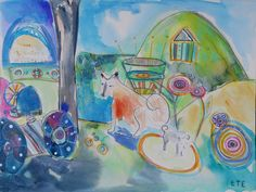 Frida and Zur_e at the farm by tobin eckian, via Flickr