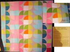 5-HTP Squared by Jennifer Carlton-Bailly. Modern quilt.