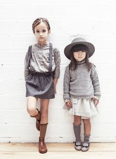 Tocoto_Vintage_Girl_Flannel_Skirt_with_Suspenders_in_Grey_lifestyle_-_W3115.jpg (1495×2048)