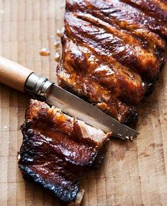 Pressure Cooker Ribs Recipe | Janet Zimmerman ( We confess, we'd never imagined you could turn ribs fall-off-the-bone tender in 30 minutes. This recipe made believers out of us.)