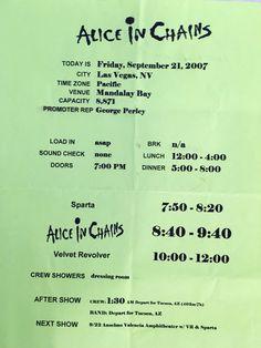 Alice in Chains Velvet Revolver 2007
