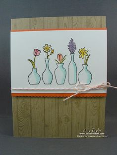 Just a Little Ink: Vivid Vases