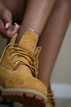 I need a pair of Timberlands. Right meow.