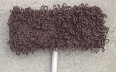 Items similar to Custom LIsting for Pat : Swiffer Cover with Baseboard Dusters in Ecru on Etsy