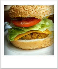 chickpea burgers | via dietitian Heather Hands, @ the Flourishing Foodie