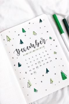 Best Green Themed Bullet Journal Spreads For 2020 – Crazy Laura – Scrapbooking İdeas For İdeas.