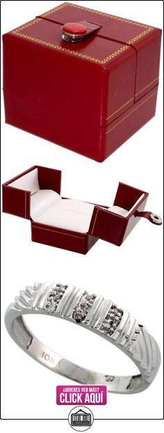 Revoni - Juego de alianzas de oro blanco  ✿ Joyas para hombres especiales - lujo ✿ ▬► Ver oferta: http://comprar.io/goto/B005M2U2Y0