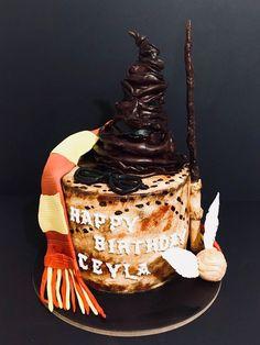 Harry Potter Cake #harrypotter #borniskitchen