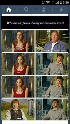 I honestly think it's Hervi potah (Harry Potter)