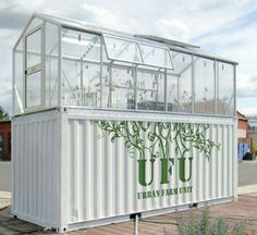 Shipping Container Turned into a Urban Farm Unit | Do something | Design we Need