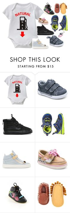 """Natural GAS This UnisexnFunny Baby Tee Collection Is The Perfect Outfit For Wearing To Grandma's"" by funnybabytees on Polyvore featuring Vans, Stride Rite, Giuseppe Zanotti, Baby Phat and Bling Jewelry"