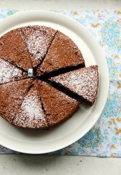 orange chocolate chiffon cake