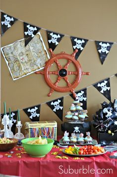 Pirate Party | http://www.suburble.com | #party