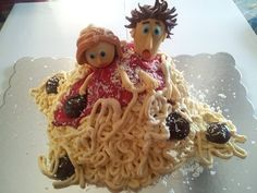 - Cloudy with a Chance of Meatballs Cake
