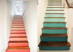 5 idées pour peindre un escalier