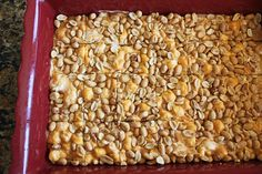 Salted Nut Roll Bars | Jamie Cooks It Up - Family Favorite Food and Recipes