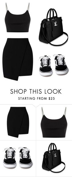 """casual"" by juliadb on Polyvore featuring Miss Selfridge and Alexander Wang"