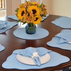 31 Best Placemats For Round Table Images Placemats For Round Table